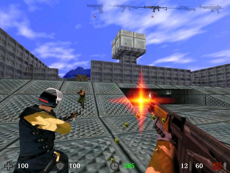 0.2       -----中国人设计的cs反恐精英游戏